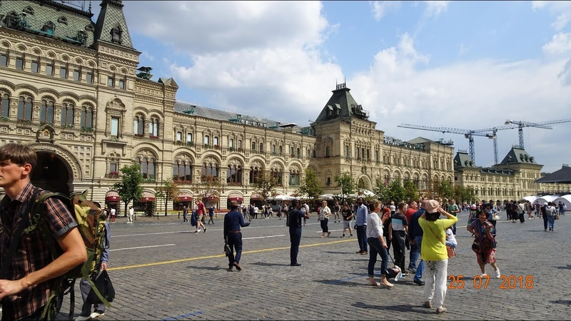 Moscow City Tour on HOP ON HOP OFF Bus - Red Route