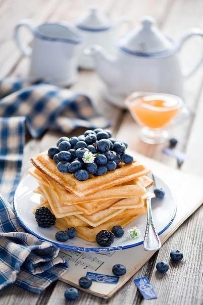 Как вам такой завтрак