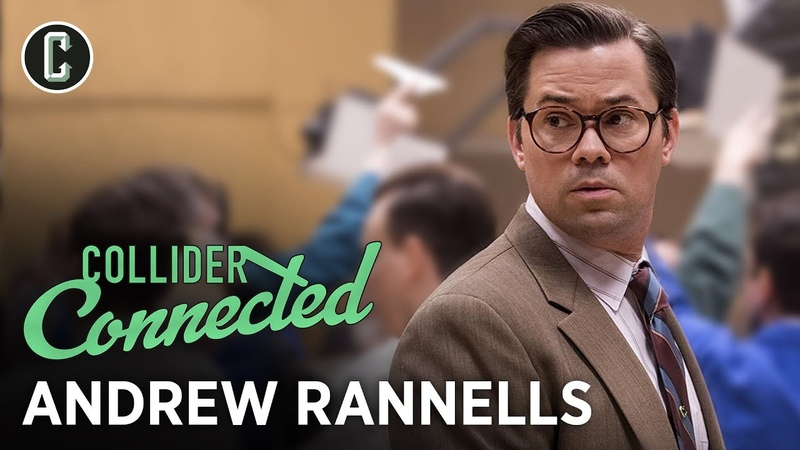 Andrew Rannells Interview on Big Mouth Black Monday and Hamilton Collider Connected