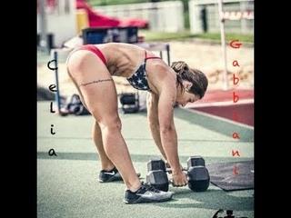 French CrossFit athlete Celia Gabbiani