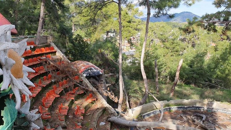 Naturland Eco Park Otel Antalya Kemer Заброшенный отель в Чамьюва Кемер Анталия Турция