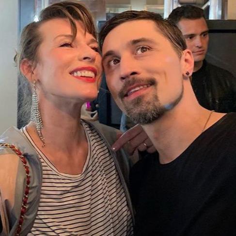 Милла Йовович посетила концерт Димы Билана в Лос-Анджелесе!