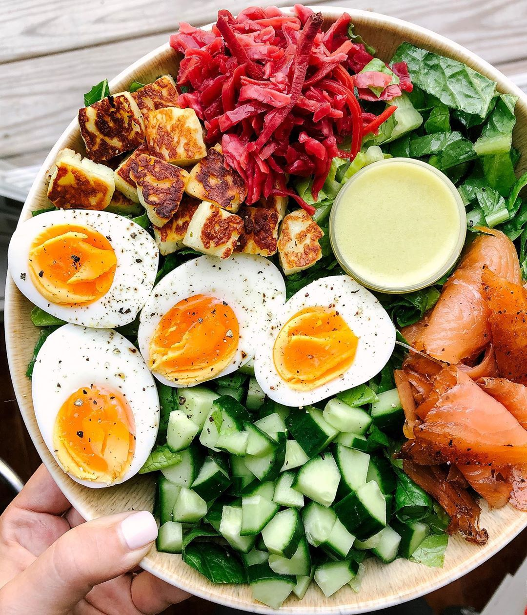 Вкусные тарелочки для легкого ужина