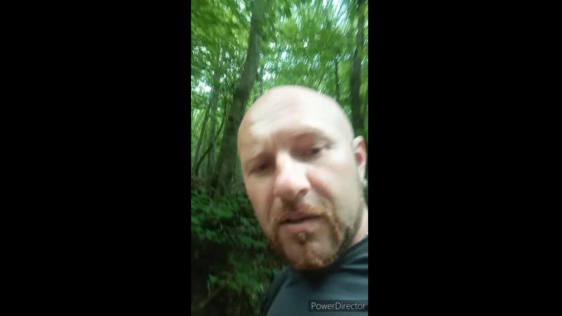Прогулка под дождём по Большому каньону Крыма 1 HD